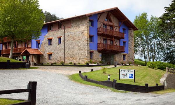 Paseos a pie Hotel Atxurra - Ruta 1