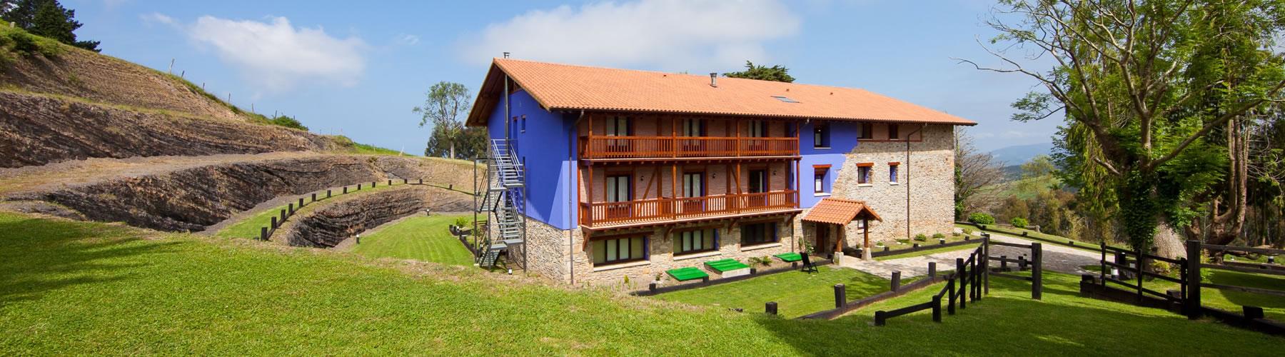 Atxurra un hotel ecológico en Bizkaia