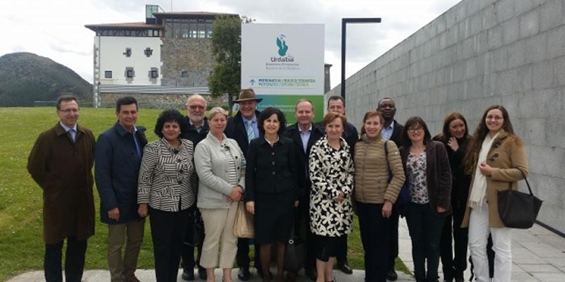 Comité Europeo de Las Regiones en Natura 2000 de Urdaibai