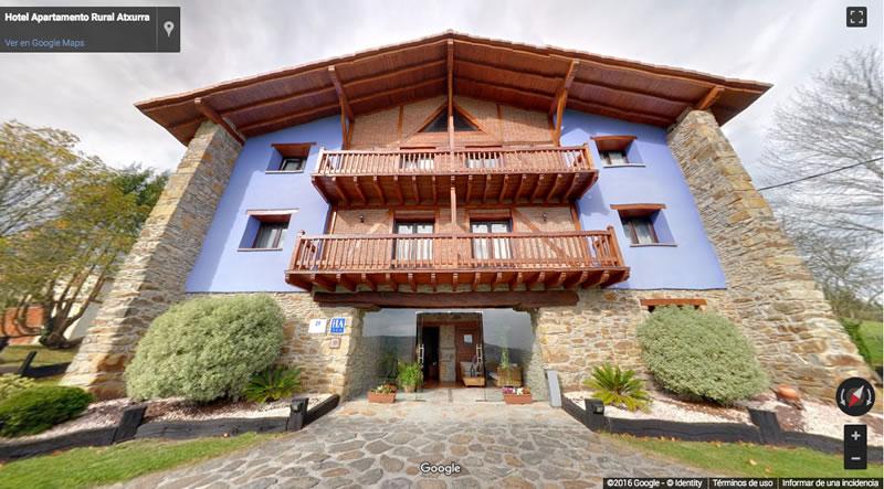 Nuevo Tour Virtual del Hotel Atxurra